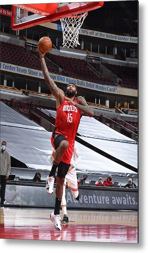 Nba Pro Basketball Metal Print featuring the photograph Demarcus Cousins by Randy Belice