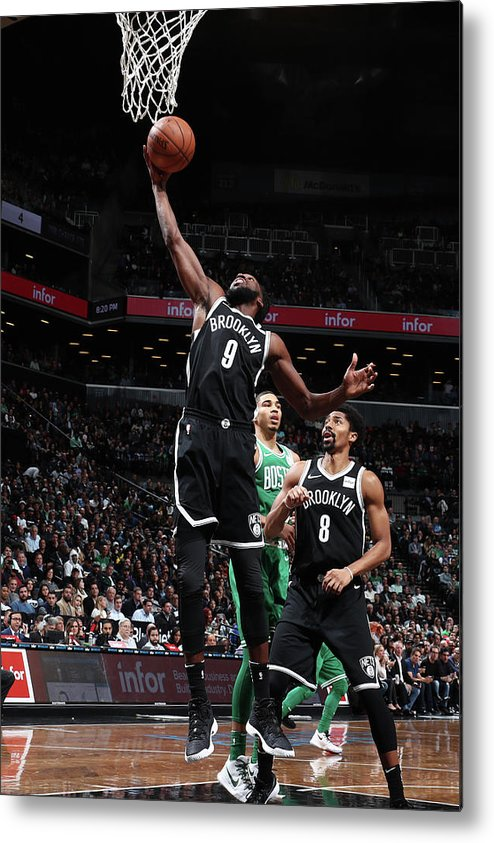Nba Pro Basketball Metal Print featuring the photograph Demarre Carroll by Nathaniel S. Butler