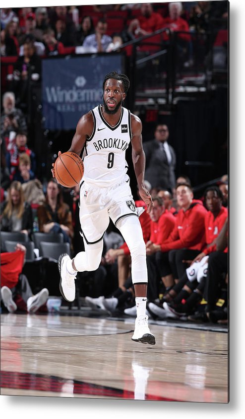 Nba Pro Basketball Metal Print featuring the photograph Demarre Carroll by Sam Forencich