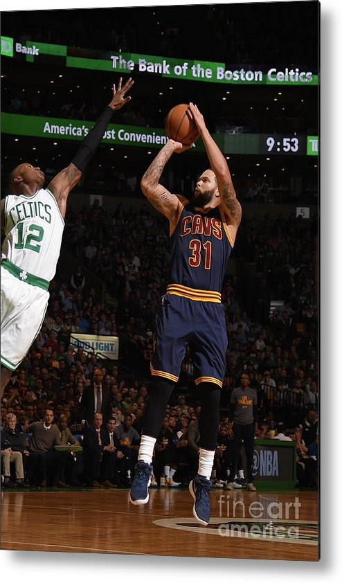 Nba Pro Basketball Metal Print featuring the photograph Deron Williams by Brian Babineau