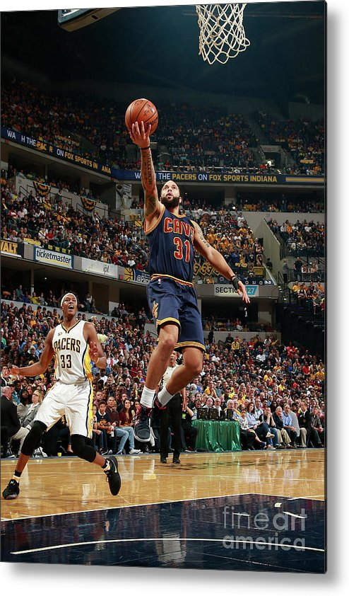 Playoffs Metal Print featuring the photograph Deron Williams by Jeff Haynes