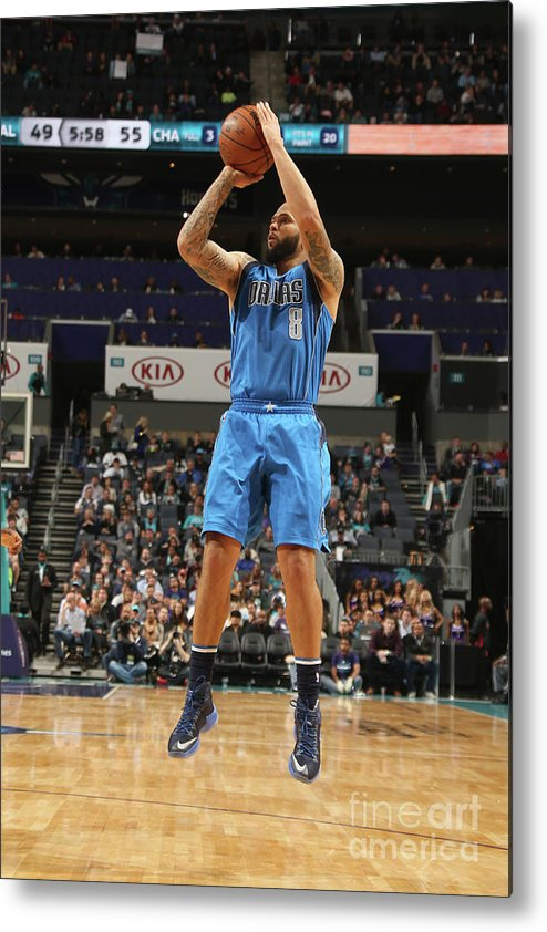 Nba Pro Basketball Metal Print featuring the photograph Deron Williams by Kent Smith