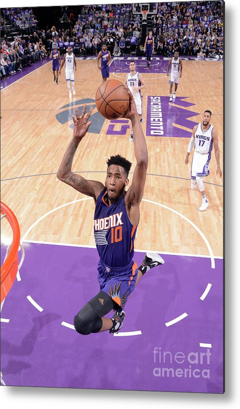 Nba Pro Basketball Metal Print featuring the photograph Derrick Jones by Rocky Widner