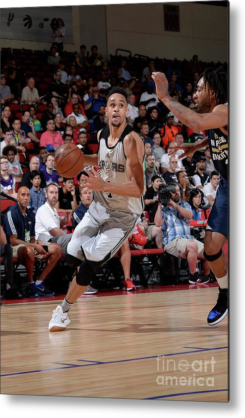 Nba Pro Basketball Metal Print featuring the photograph Derrick White by David Dow
