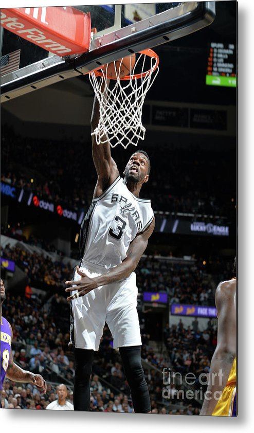 Dewayne Dedmon Metal Print featuring the photograph Dewayne Dedmon by Mark Sobhani