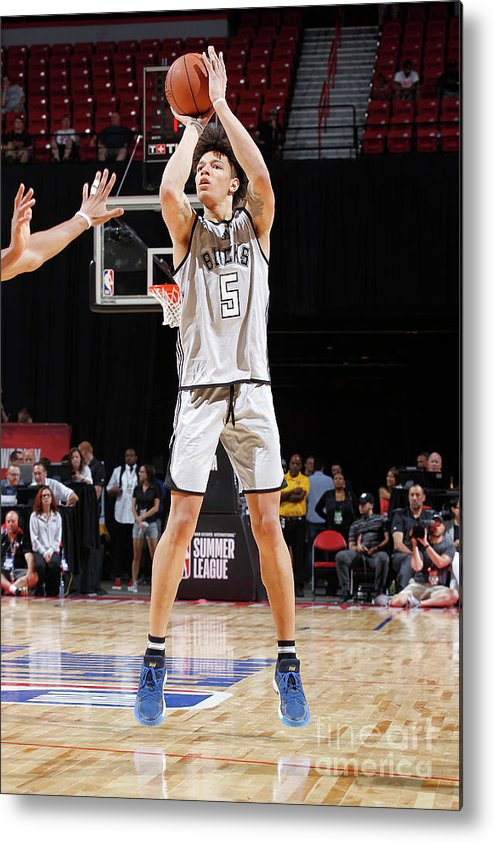 Nba Pro Basketball Metal Print featuring the photograph D.j. Wilson by Jack Arent