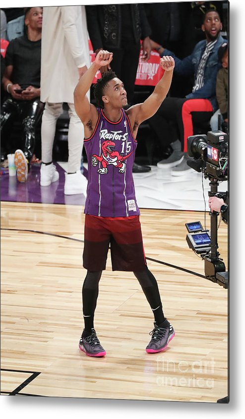 Event Metal Print featuring the photograph Donovan Mitchell by Joe Murphy