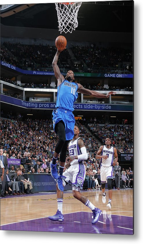 Nba Pro Basketball Metal Print featuring the photograph Dorian Finney-smith by Rocky Widner