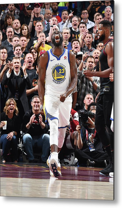 Playoffs Metal Print featuring the photograph Draymond Green by Andrew D. Bernstein