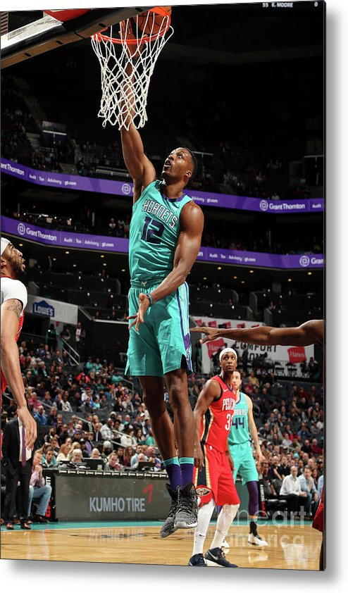 Nba Pro Basketball Metal Print featuring the photograph Dwight Howard by Kent Smith