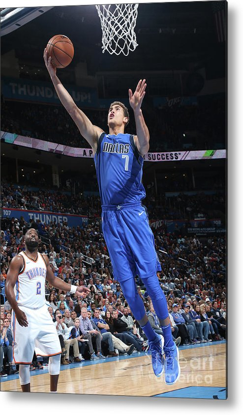 Dwight Powell Metal Print featuring the photograph Dwight Powell by Layne Murdoch