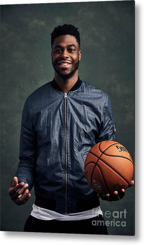 Event Metal Print featuring the photograph Emmanuel Mudiay by Jennifer Pottheiser