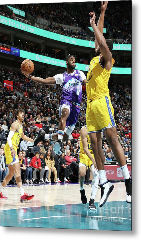 Nba Pro Basketball Metal Print featuring the photograph Emmanuel Mudiay by Melissa Majchrzak