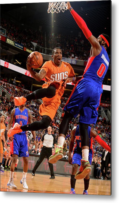 Nba Pro Basketball Metal Print featuring the photograph Eric Bledsoe by Barry Gossage
