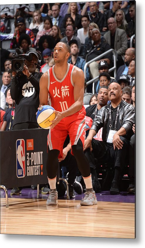 Event Metal Print featuring the photograph Eric Gordon by Andrew D. Bernstein