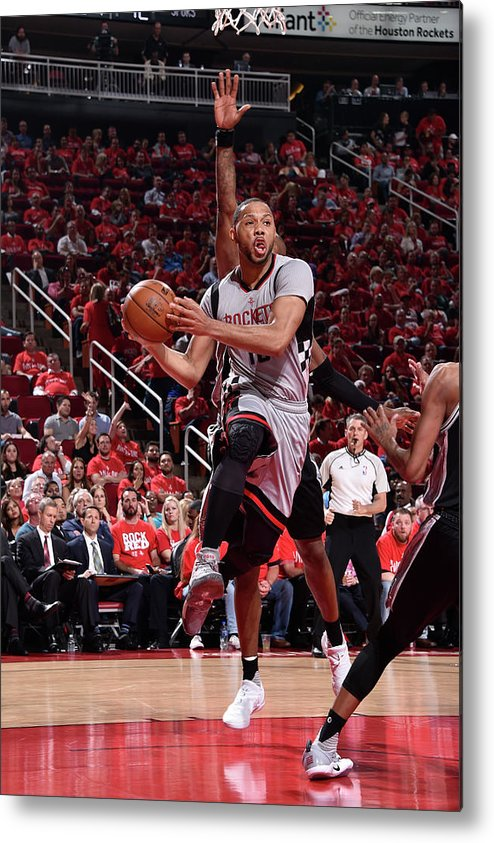 Playoffs Metal Print featuring the photograph Eric Gordon by Bill Baptist