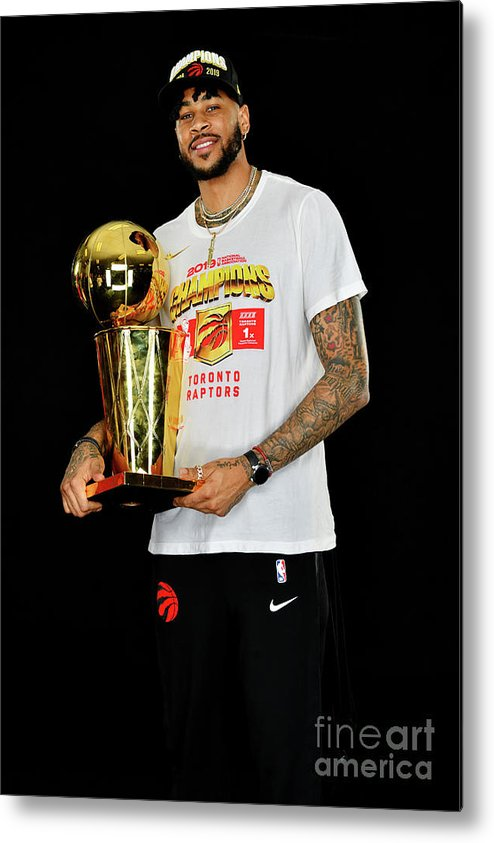 Playoffs Metal Print featuring the photograph Eric Moreland by Jesse D. Garrabrant
