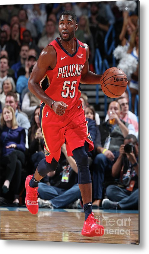 Nba Pro Basketball Metal Print featuring the photograph E'twaun Moore by Joe Murphy