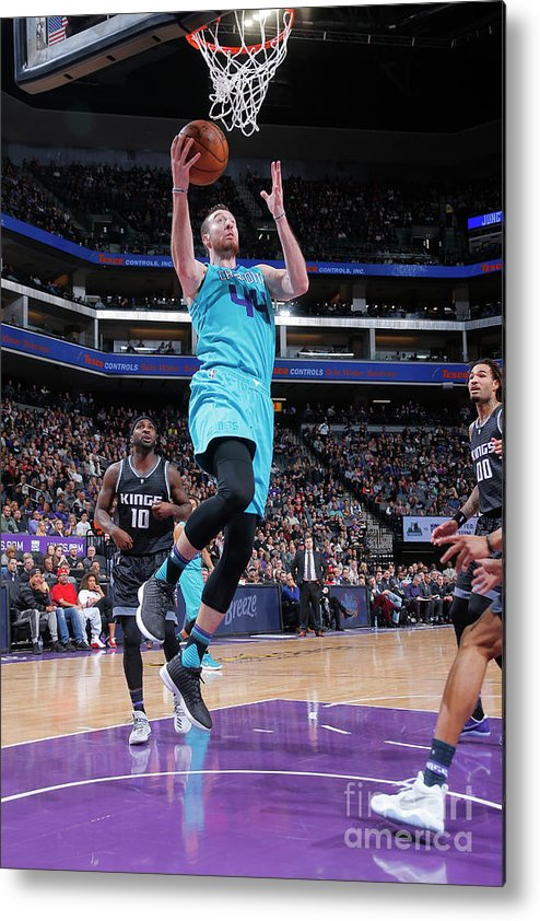 Nba Pro Basketball Metal Print featuring the photograph Frank Kaminsky by Rocky Widner
