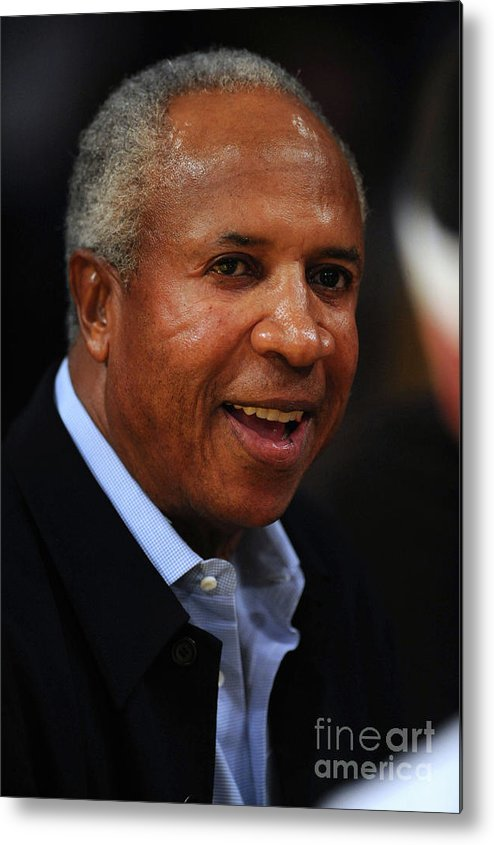 Nba Pro Basketball Metal Print featuring the photograph Frank Robinson by Noah Graham