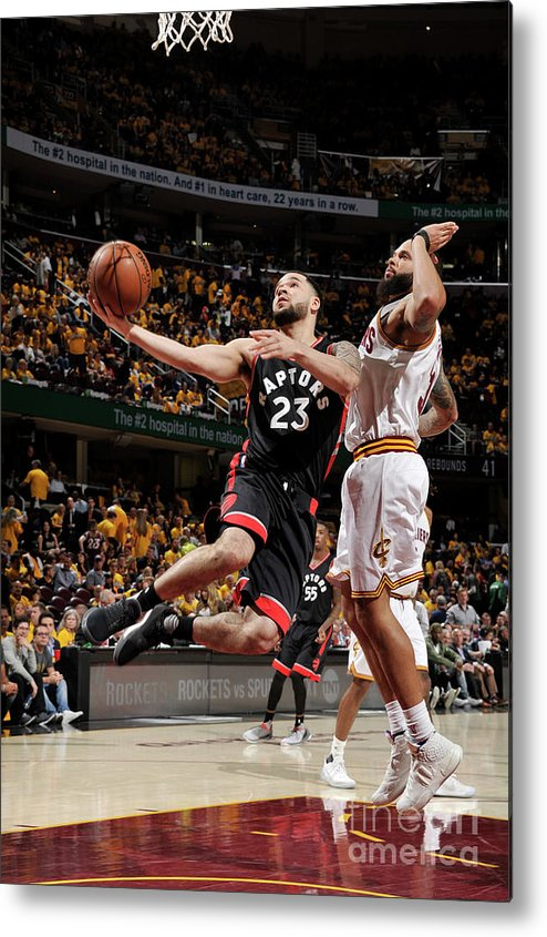 Playoffs Metal Print featuring the photograph Fred Vanvleet by David Liam Kyle