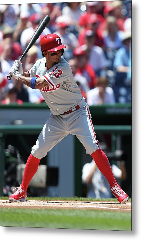 People Metal Print featuring the photograph Freddy Galvis by Patrick Smith