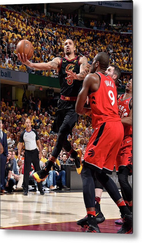 Playoffs Metal Print featuring the photograph George Hill by David Liam Kyle