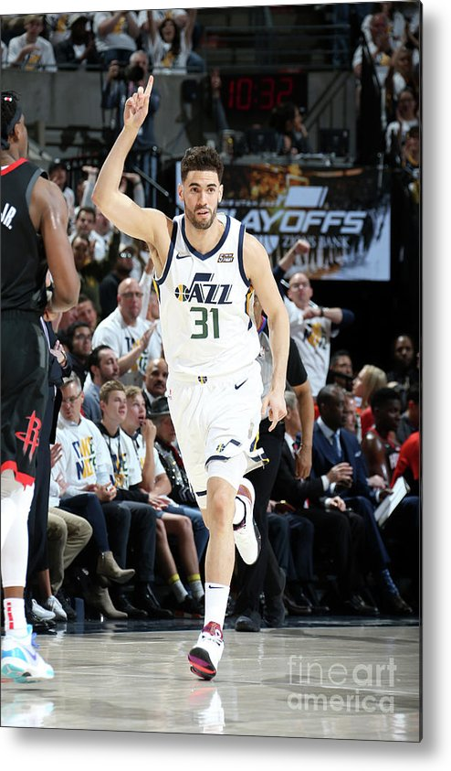 Playoffs Metal Print featuring the photograph Georges Niang by Melissa Majchrzak