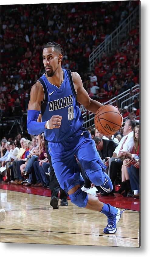 Nba Pro Basketball Metal Print featuring the photograph Gian Clavell by Layne Murdoch