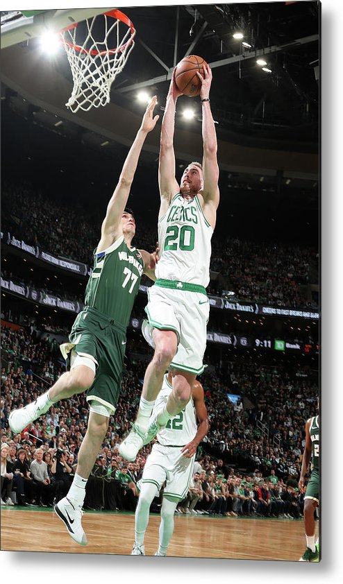 Playoffs Metal Print featuring the photograph Gordon Hayward by Nathaniel S. Butler