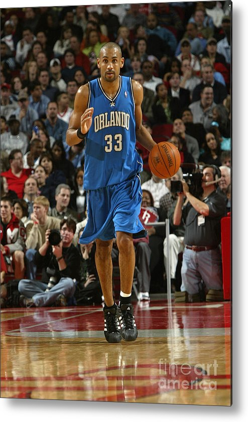 Nba Pro Basketball Metal Print featuring the photograph Grant Hill by Bill Baptist
