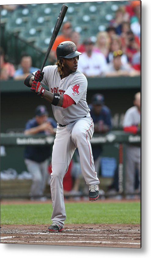People Metal Print featuring the photograph Hanley Ramirez by Patrick Smith