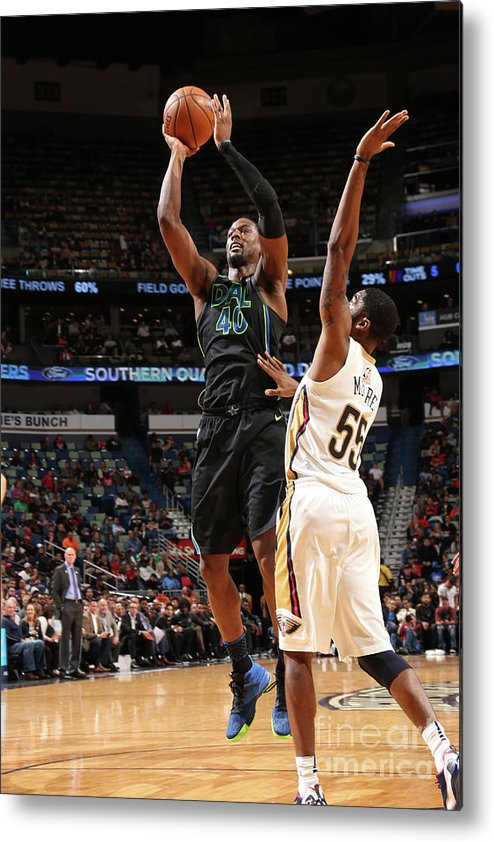 Smoothie King Center Metal Print featuring the photograph Harrison Barnes by Layne Murdoch
