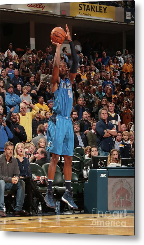 Nba Pro Basketball Metal Print featuring the photograph Harrison Barnes by Ron Hoskins