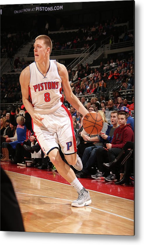 Nba Pro Basketball Metal Print featuring the photograph Henry Ellenson by Brian Sevald