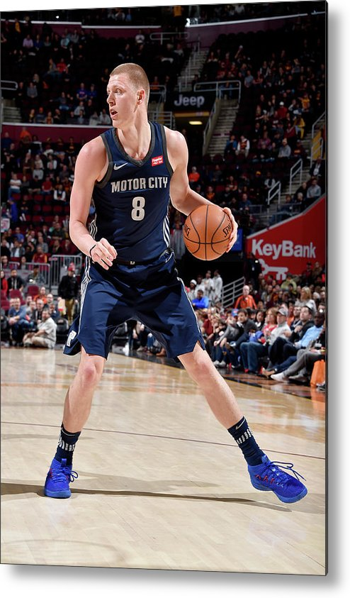 Nba Pro Basketball Metal Print featuring the photograph Henry Ellenson by David Liam Kyle