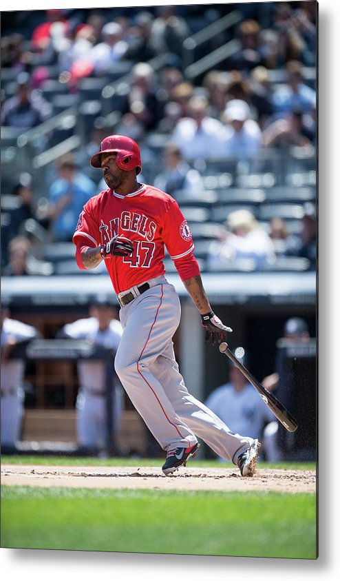 American League Baseball Metal Print featuring the photograph Howie Kendrick by Rob Tringali