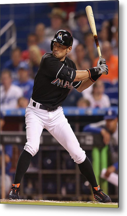 People Metal Print featuring the photograph Ichiro Suzuki by Rob Foldy