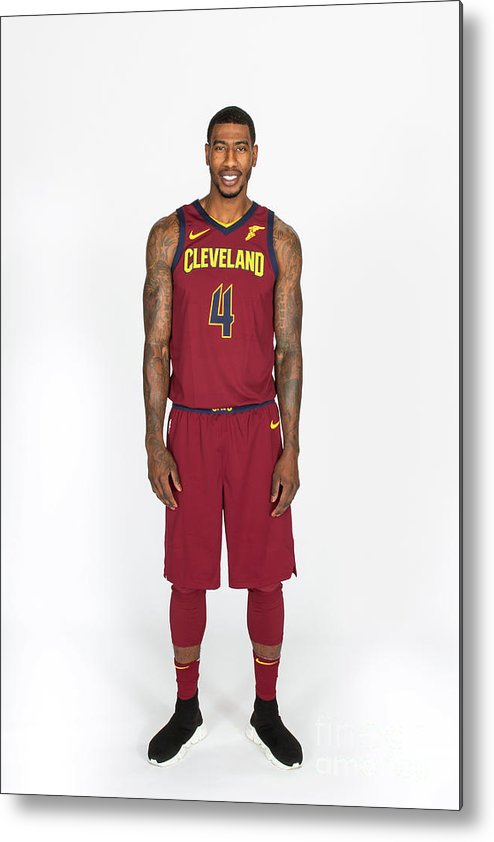 Media Day Metal Print featuring the photograph Iman Shumpert by Michael J. Lebrecht Ii
