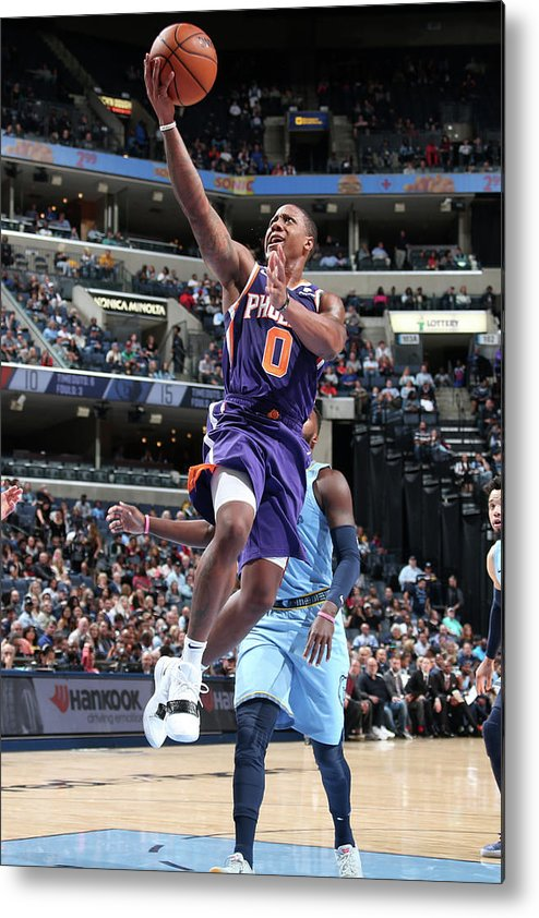 Isaiah Canaan Metal Print featuring the photograph Isaiah Canaan by Ned Dishman