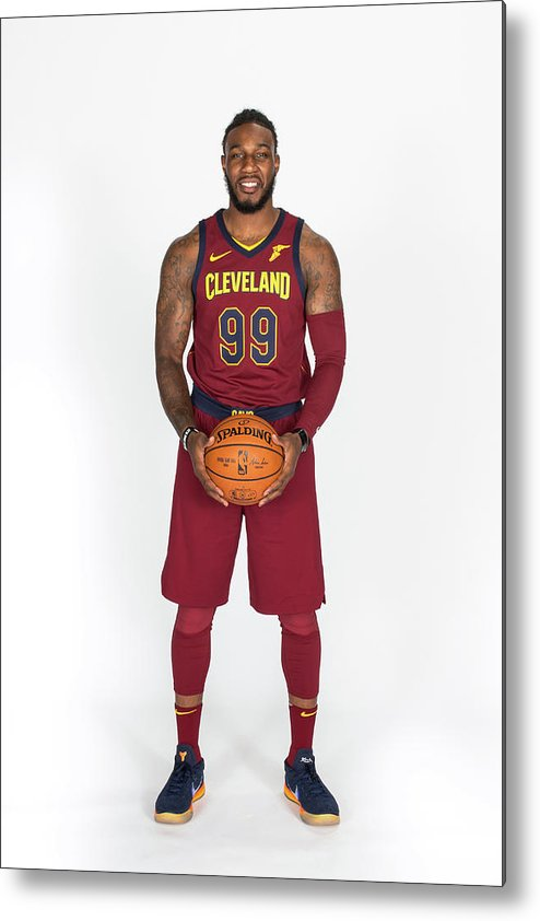 Media Day Metal Print featuring the photograph Jae Crowder by Michael J. Lebrecht Ii