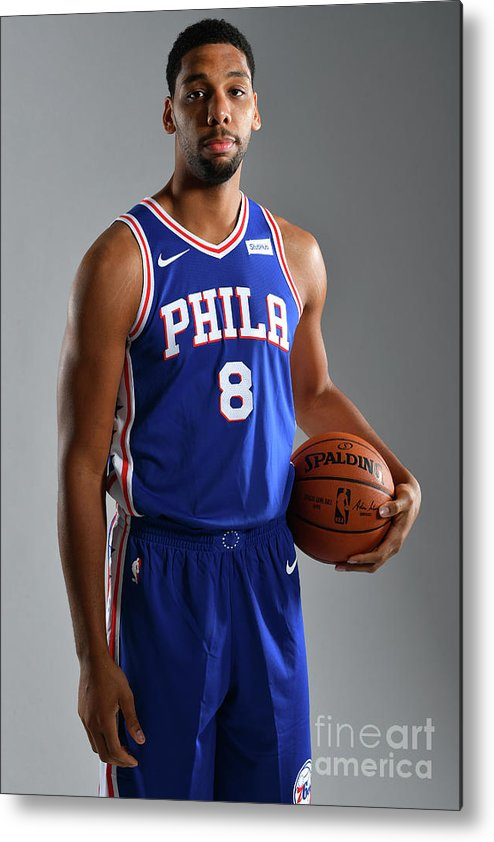 Media Day Metal Print featuring the photograph Jahlil Okafor by Jesse D. Garrabrant