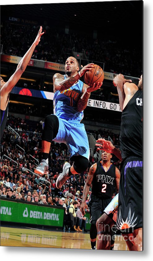 Nba Pro Basketball Metal Print featuring the photograph Jameer Nelson by Barry Gossage
