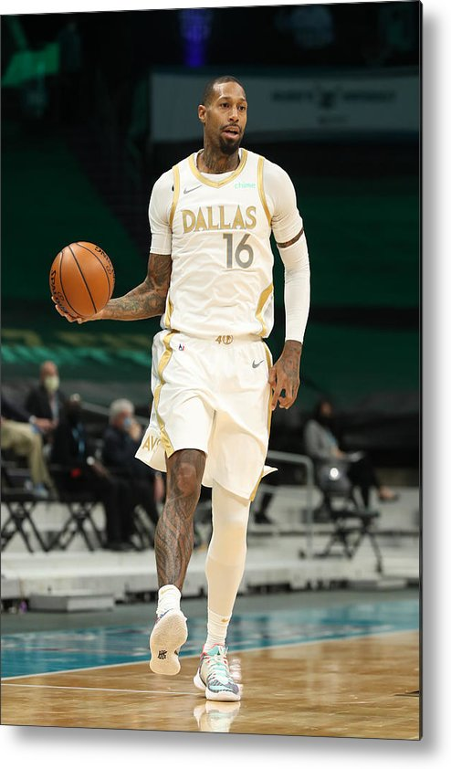 Nba Pro Basketball Metal Print featuring the photograph James Johnson by Brock Williams-Smith