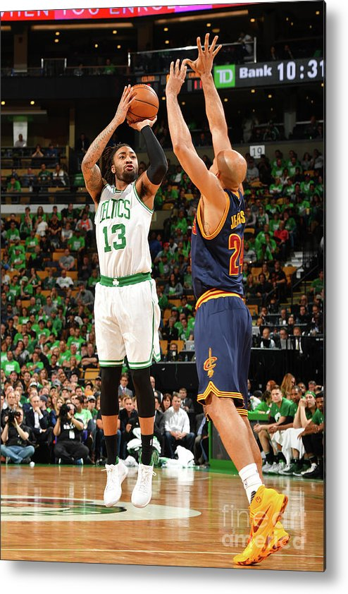 Playoffs Metal Print featuring the photograph James Young by Jesse D. Garrabrant