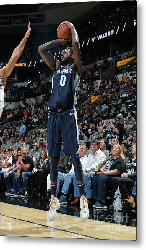 Nba Pro Basketball Metal Print featuring the photograph Jamychal Green by Mark Sobhani