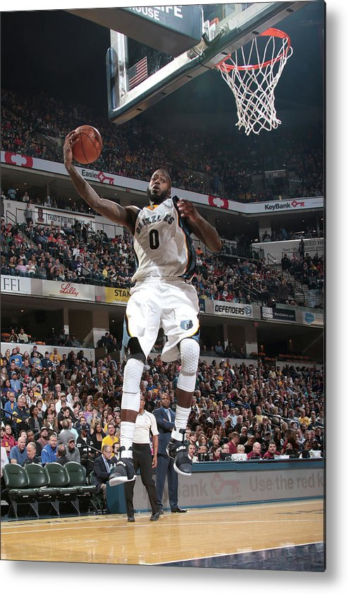 Nba Pro Basketball Metal Print featuring the photograph Jamychal Green by Ron Hoskins