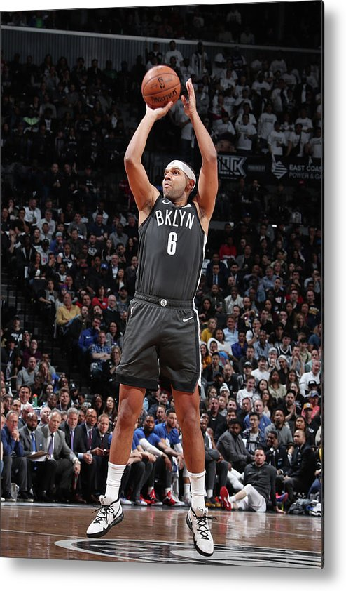 Playoffs Metal Print featuring the photograph Jared Dudley by Nathaniel S. Butler