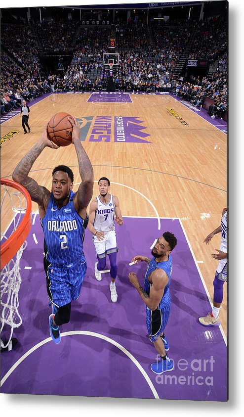 Nba Pro Basketball Metal Print featuring the photograph Jarell Martin by Rocky Widner