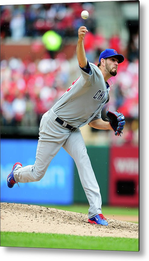 St. Louis Metal Print featuring the photograph Jason Hammel by Jeff Curry